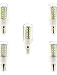 5W E14 LED Glühlampen 56 SMD 5730 450-500 lm Natürliches Weiß 6000-6500 K AC 220-240 V