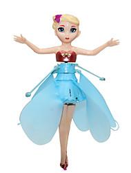 Недорогие -милый цветок фея девичья стиль летающий игрушка с легкой привело (USB аккумуляторная)