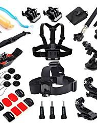 economico -Sacchetti Vite Boje Ventosa Con bretelle Impugnature Monopiede Treppiede Montaggio Per Videocamera sportiva Gopro 5 Xiaomi Camera Gopro 4