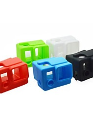 cheap -4 Color Options Silicone Dustproof Protective Skin Case Cover for GoPro HD Hero 3