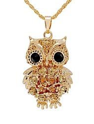 Недорогие -Жен. Ожерелья с подвесками - Дамы, Мода Золотой Ожерелье Бижутерия Назначение