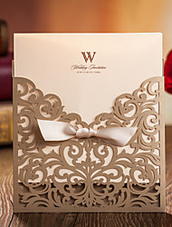 "cheap -Wrap & Pocket Wedding Invitations Invitation Cards Card Paper 6""×6"" (15*15cm)"