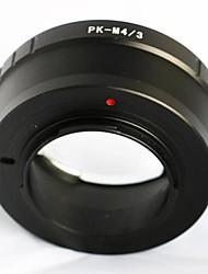 pentax pk k Mount Objektiv für Olympus panasonic micro 4/3 M43 Adapter E-p5 GF6 gh3
