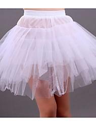 abordables -Mariage Occasion spéciale Fête / Soirée Déshabillés Tulle Longueur courte Robe trapèze Robe de soirée longue Classique & Intemporel avec