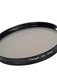 tianya® 77 milímetros CPL filtro polarizador circular para canon 24-105 24-70 i 17-40 nikon 18-300 lente
