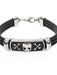 cheap -Tina -- Korean Fashion Men's Alloy Accessory Leather Bracelet in Party