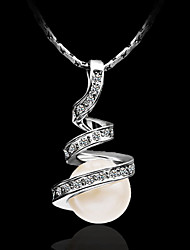 Women's Pendant Necklaces Sterling Silver Costume Jewelry Jewelry For Party Casual