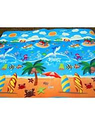 Недорогие -детские игрушки ребенка ползать коврик ребенка подушки коврик головоломки ползучий коврик