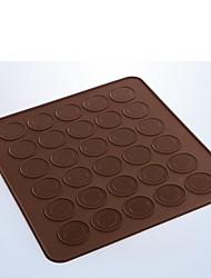 billige -Bageværktøj Silikone Øko Venlig Kage / Småkage / Tærte bageform 1pc