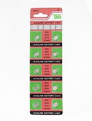 ag4 / 377a / 626a / cx66w 1.55V alkalische Uhrenbatterie 10pcs