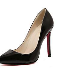 povoljno -Žene Cipele Umjetna koža Proljeće Jesen Stiletto potpetica za Zabava i večer Crna Bijela Crvena Bež Fuksija