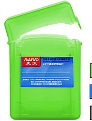 "baratos -maiwo 2.5 ""hdd 2pcs protetor caso de disco rígido HDD caixa verde / cinza / azul kp001"