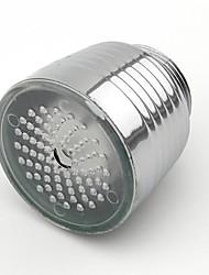 Недорогие -светящийся свечение накаливания ведомый водопроводный кран душ водопроводная насадка передняя фара ванная кухня смесители