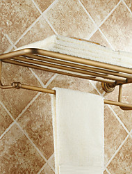 cheap -Antique Brass Wall Mounted Towel Bars