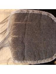 preiswerte -Haarwebart Haarverlängerungen Brasilianisches Echthaar Klassisch Gerade 14 Zoll 16 Zoll 18 Zoll 20 Zoll 8 Zoll