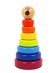 Недорогие -benho березы радуга укладчик деревянный образование ребенка игрушка