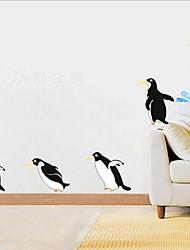 preiswerte -Dekorative Wand Sticker - Tier Wandaufkleber Tiere / Stillleben / Romantik Wohnzimmer / Schlafzimmer / Studierzimmer / Büro