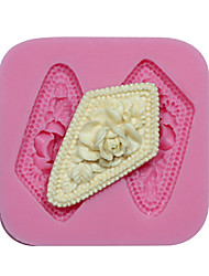 molde molde flor silicone queque decoração silicone cameo silicone para fondant fimo gum paste&sabonete de chocolate
