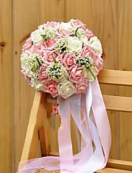 bouquet di nozze panno di seta pe matrimonio romantico sposa azienda fiori