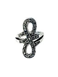 preiswerte -Art- und Weisefrauen-Silberring ty001 eleganter klassischer weiblicher Stil