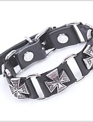 tina - boêmio pulseira de couro acessório liga de moda vintage no partido