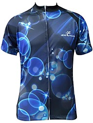 cheap -JESOCYCLING Cycling Jersey Men's Short Sleeves Bike Jersey Top Bike Wear Quick Dry Ultraviolet Resistant Moisture Permeability Breathable