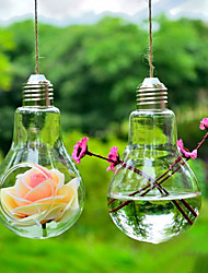 "cheap -4.3""H Creative Hanging Micro Landscape Glass Bottle Bulb Shape"