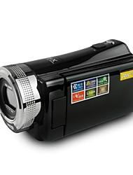 """rich® dvh-600 HD 720p pixels 16,0 méga pixels 16x zoom 2.7 """"écran hd lcd appareil photo numérique caméscope"""