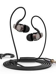 Headphone 3.5mm In-Ear Clear Bass Earphone with Mic for iPhone 6/iPhone 6 Plus