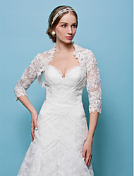 cheap -Lace Wedding Party/Evening Wedding  Wraps Shrugs Elegant Style
