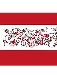 четыре с торт декора трафареты выпечки принадлежности цвет белый 301-й
