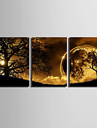 cheap -Stretched Canvas Print Canvas Set Landscape Vertical Print Wall Decor Home Decoration