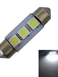 povoljno -60 lm Festoon Ukrasna svjetla 3 LED diode SMD 5050 Hladno bijelo DC 12V
