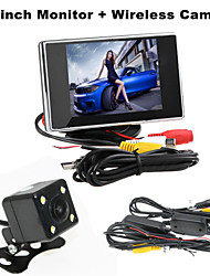 RenEPai® 3.5 Inch Monitor + Wireless 170°HD Car Rear View Camera +  High-Definition Wide Angle Waterproof CMOS Camera