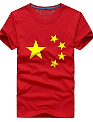 cheap -Casual / Daily T-shirt - Print Stars, Modern Style Sporty