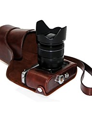 economico -Borsa dengpin® pu olio pelle cuoio copertura della macchina fotografica staccabile caso per Fujifilm X-E2 x-E1 (colori assortiti)