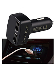 4 In 1 Multi-functional Car Charge Display Temperature/Voltage/Amper