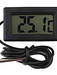 cheap -Mini Digital Fridge Thermometer Black LCD Display4.8*2.85*1.5 cm