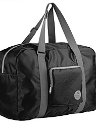cheap -TIANYAT Unisex Waterproof Lightweight Travelling Bag/Casual Nylon Totes/Luggage Bag/ Duffel Bag Black