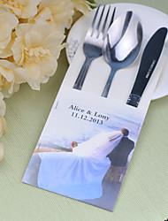 baratos -jogos de serviço do bolo de casamento de faca fontes personalizadas sacos conjunto de 10 ----