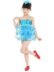 abordables -Devrions-nous des robes de ballet pour la performance des enfants Robe (s) en tulle (s)