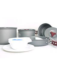 Fire-Maple Jogo de Cozinha para Acampamento Panela para Acampamento Conjuntos Portátil Compacto Alumínio Liga para Piquenique Acampar e