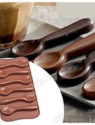 Fashion Silicone Chocolate Mold Ice Jelly Cake Decorating Kitchen Sweet Food Bakeware Cooking Cake Tools(Random Color)