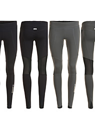 cheap -Women's Running Baselayer / Running Tights / Gym Leggings - Black, Gray Sports Solid Colored Tights Yoga, Fitness, Gym Activewear Quick Dry, Moisture Permeability, Breathable Stretchy