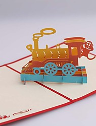 cheap -Business Cards - Happy Train(1piece)