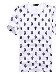 お買い得  -男性用 クラシック Tシャツ クラシック・タイムレス アールデコ調