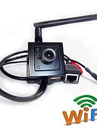 billige -Motion Detection/Dobbeltstrømspumpe/Fjernadgang/IR-klip/Wi-Fi Beskyttet Setup/Plug and play - Indendørs Mini - IP-kamera
