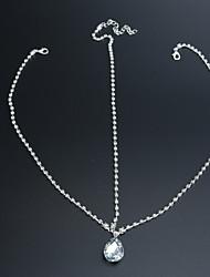 abordables -Cristal Tissu Alliage Diadèmes Chaîne de tête 1 Mariage Occasion spéciale Fête / Soirée Casque