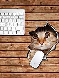 le chat design décoratif tapis de souris mac peau autocollants mac accessoires