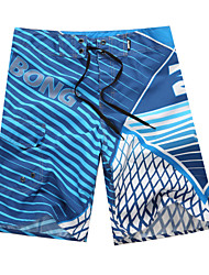 cheap -Men's Bottoms - Striped Board Shorts